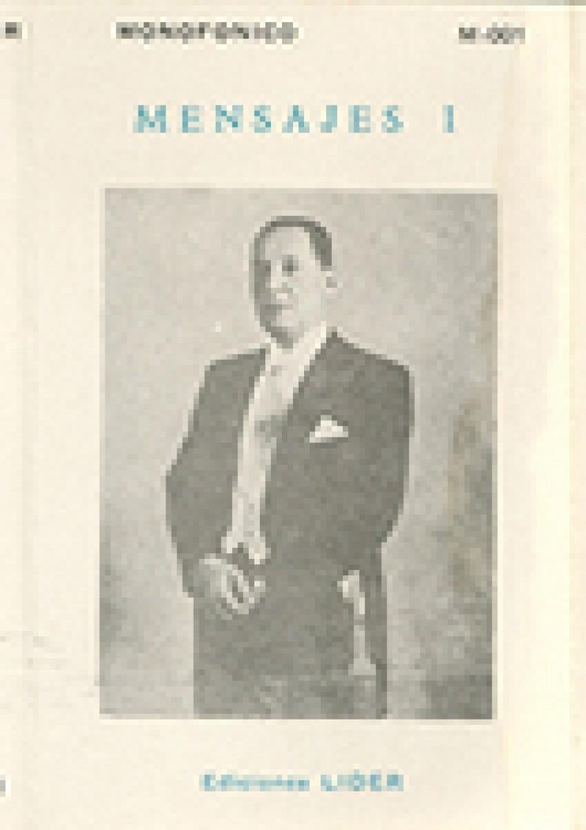 Mensajes. Juan D. Perón.